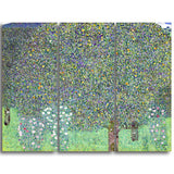 MasterPiece Painting - Gustav Klimt Rosebushes Under the Trees