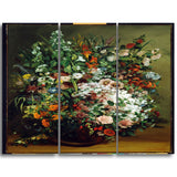 MasterPiece Painting - Gustave Courbet Bouquet of Flowers in a Vase