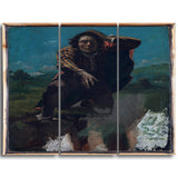 MasterPiece Painting - Gustave Courbet Man Made Mad with Fear
