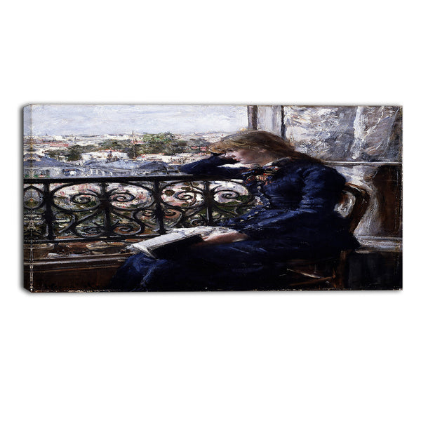 MasterPiece Painting - Hans Heyerdahl At the Window
