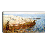 MasterPiece Painting - Childe Hassam Cliff Rock