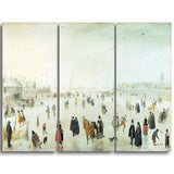 MasterPiece Painting - Hendrick Avercamp A Scene on the Ice