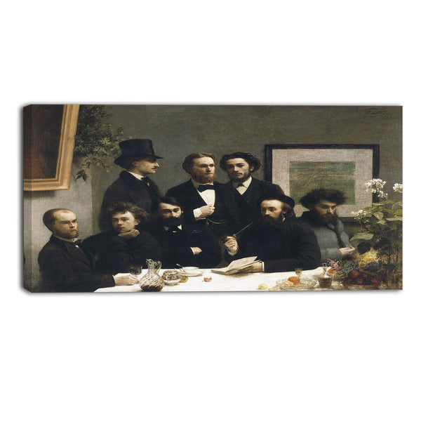 MasterPiece Painting - Henri Fantin Latour By the Table