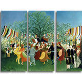 MasterPiece Painting - Henri Rousseau A Centennial of Independence