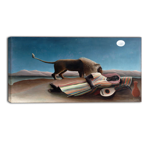 MasterPiece Painting - Henri Rousseau The Sleeping Gypsy