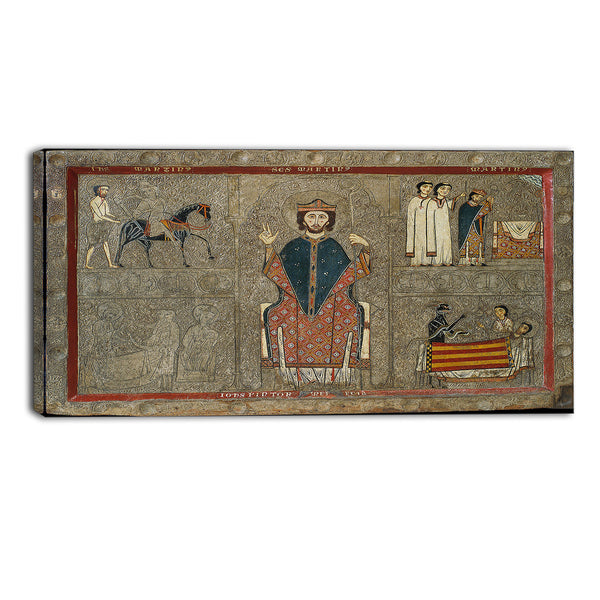 MasterPiece Painting - Iohannes Altar frontal from Gia