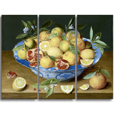 MasterPiece Painting - Jacob van Hulsdonck Still Life with Lemons