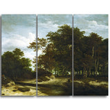 MasterPiece Painting - Jacob van Ruisdael The Great Forest