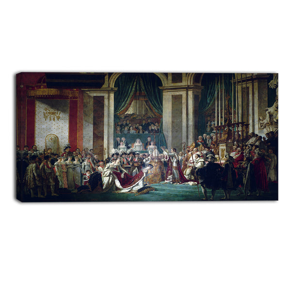 MasterPiece Painting - Jacques Louis Coronation of Emperor Napoleon I