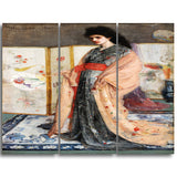 MasterPiece Painting - James McNeill Whistler The Princess from the Land of Porcelain