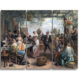 MasterPiece Painting - Jan Steen The Dancing Couple