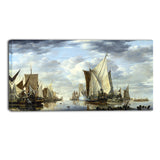 MasterPiece Painting - Jan van de Cappelle Shipping in a Calm at Flushing
