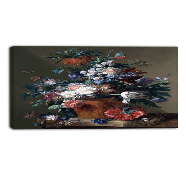 MasterPiece Painting - Jan van HuysumVase of Flowers 3 16Wx32H