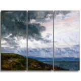 MasterPiece Painting - JC Dahl Study of Drifting Clouds