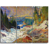 MasterPiece Painting - JEH MacDonald Montreal River