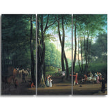 MasterPiece Painting - Jens Juel The Dancing Glade at Sorgenfri, North Copenhagen