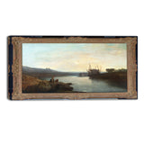 MasterPiece Painting - JMW Turner Harlech Castle from Twgwyn Ferry