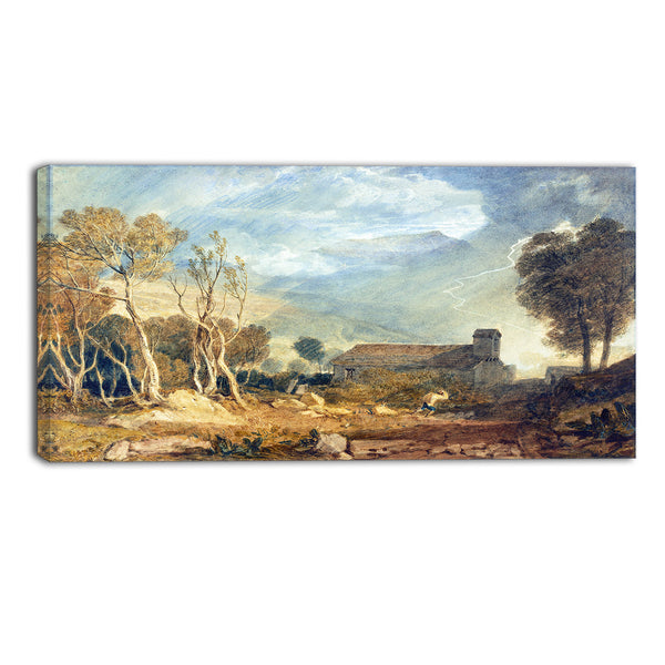 MasterPiece Painting - JMW Turner Ingleborough from Chapel Le Dale