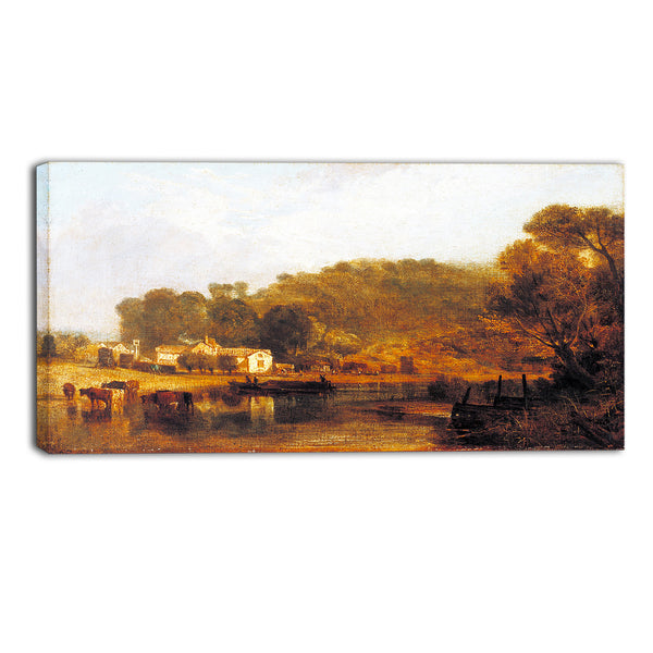 MasterPiece Painting - JMW Turner Cliveden on Thames