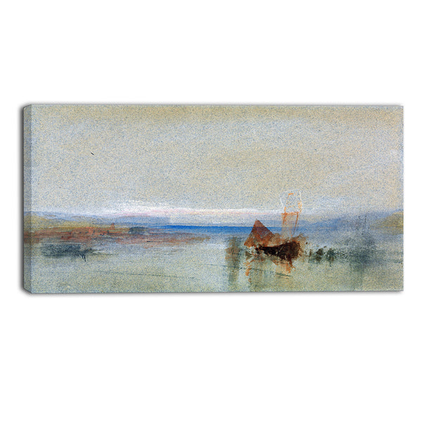 MasterPiece Painting - JMW Turner Fishing Boats Becalmed off le Havre