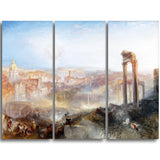 MasterPiece Painting - JMW Turner Modern Rome