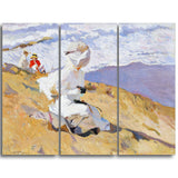 MasterPiece Painting - Joaquin Sorolla y Bastida Capuring the Moment