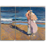 MasterPiece Painting - Joaquin Sorolla y Bastida Fisherwomen with her son