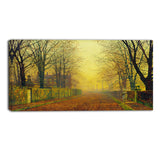 MasterPiece Painting - John Atkinson Grimshaw Evening Glow