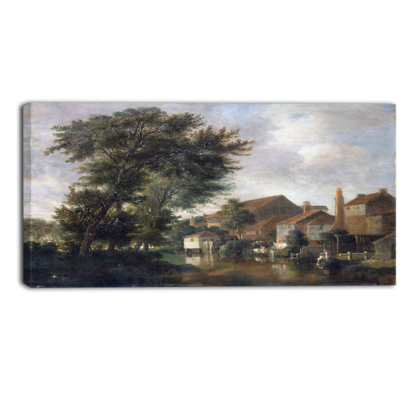 MasterPiece Painting - John Crome The River Wensum, Norwich