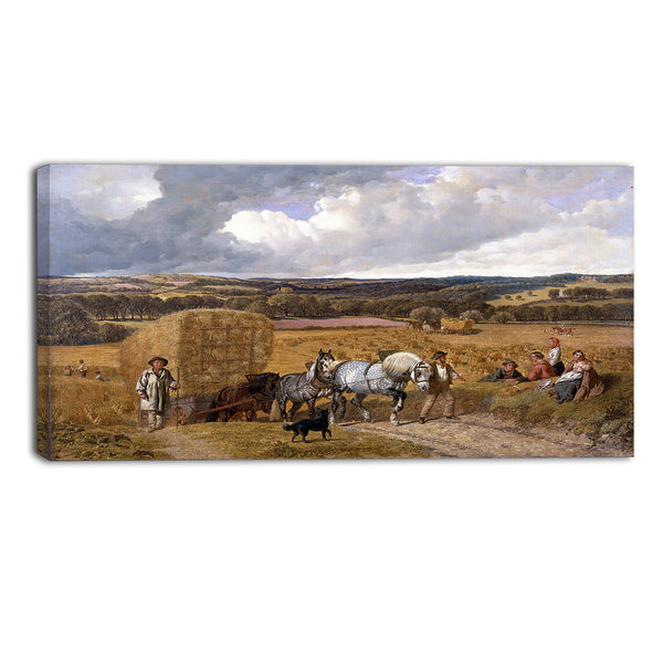MasterPiece Painting - John Frederick Herring The Harvest
