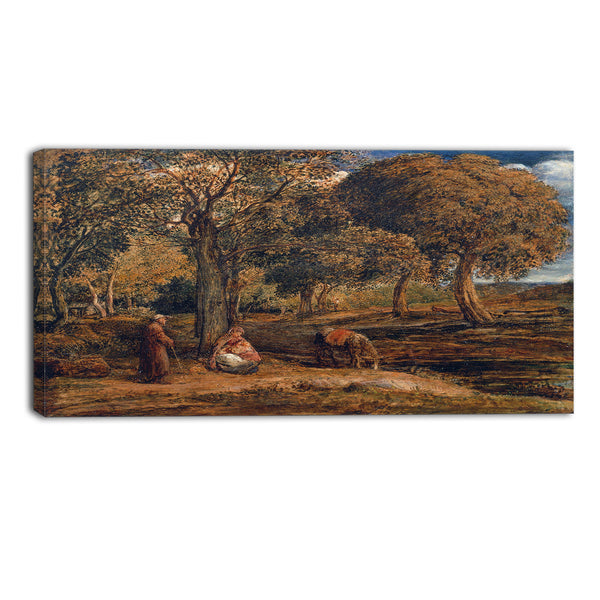 MasterPiece Painting - John Linnell The Rest on the Flight into Egypt