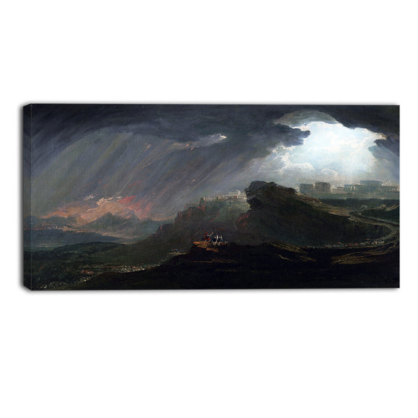MasterPiece Painting - John Martin Commanding the Sun to Stand Still