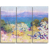MasterPiece Painting - John Russel In the morning, Alpes, Maritimes from Antibes