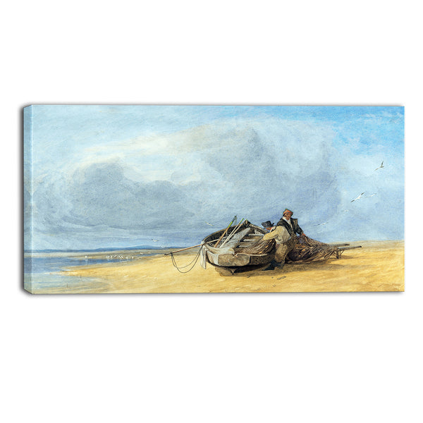 MasterPiece Painting - John Sell Cotman Yarmouth Sands, Norfolk