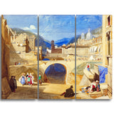 MasterPiece Painting - John Sell Cotman Bridge in a Continental Town