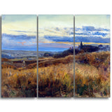 MasterPiece Painting - John William Inchbold Cornfiled at Sunset