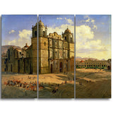 MasterPiece Painting - Jose Maria Velasc Oaxaca Cathedral