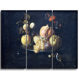 MasterPiece Painting - Juan De Zurbarn Still Life with Fruit and Goldfinch
