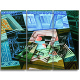 MasterPiece Painting - Juan Gris Still Life before an Open Window