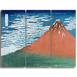 MasterPiece Painting - Katsushika Hokusai Fine Wind, Clear Weather