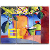 MasterPiece Painting - August Macke Turkisches Cafe