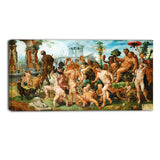 MasterPiece Painting - Maerten van Heemskerck The Triumphal Procession of Bacchus