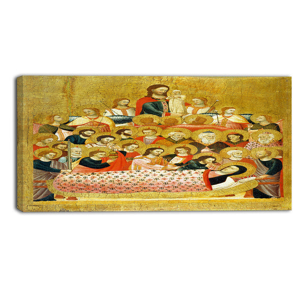 MasterPiece Painting - Master of the Cini Madonna Dormition of the Virgin