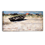 MasterPiece Painting - Oscar Bjorck Boat at Skagen's South Beach