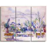 MasterPiece Painting - Paul Cezanne The Terrace at the Garden at Les Lauves
