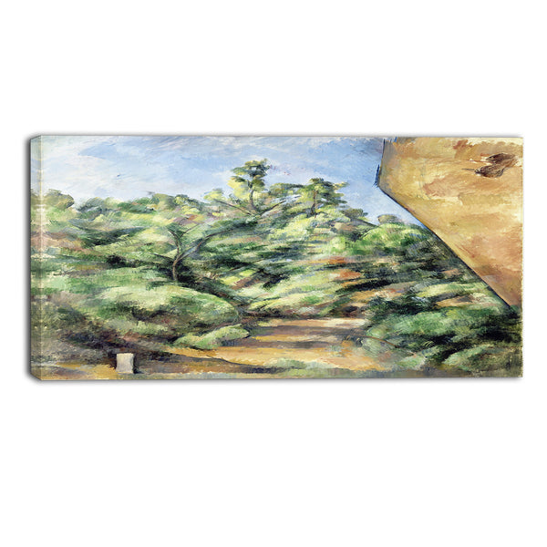 MasterPiece Painting - Paul Cezanne The Red Rock