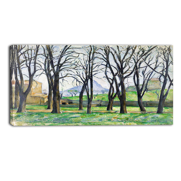 MasterPiece Painting - Paul Cezanne Chestnut Trees at Jas de Bouffan