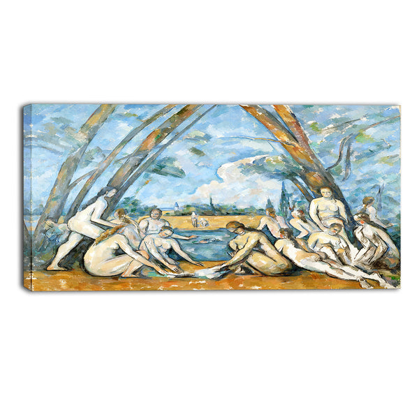 MasterPiece Painting - Paul Cezanne The Large Bathers