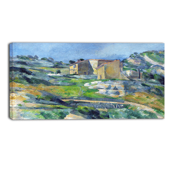 MasterPiece Painting - Paul Cezanne Houses in Provence