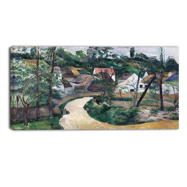 MasterPiece Painting - Paul Cezanne Turn in the Road